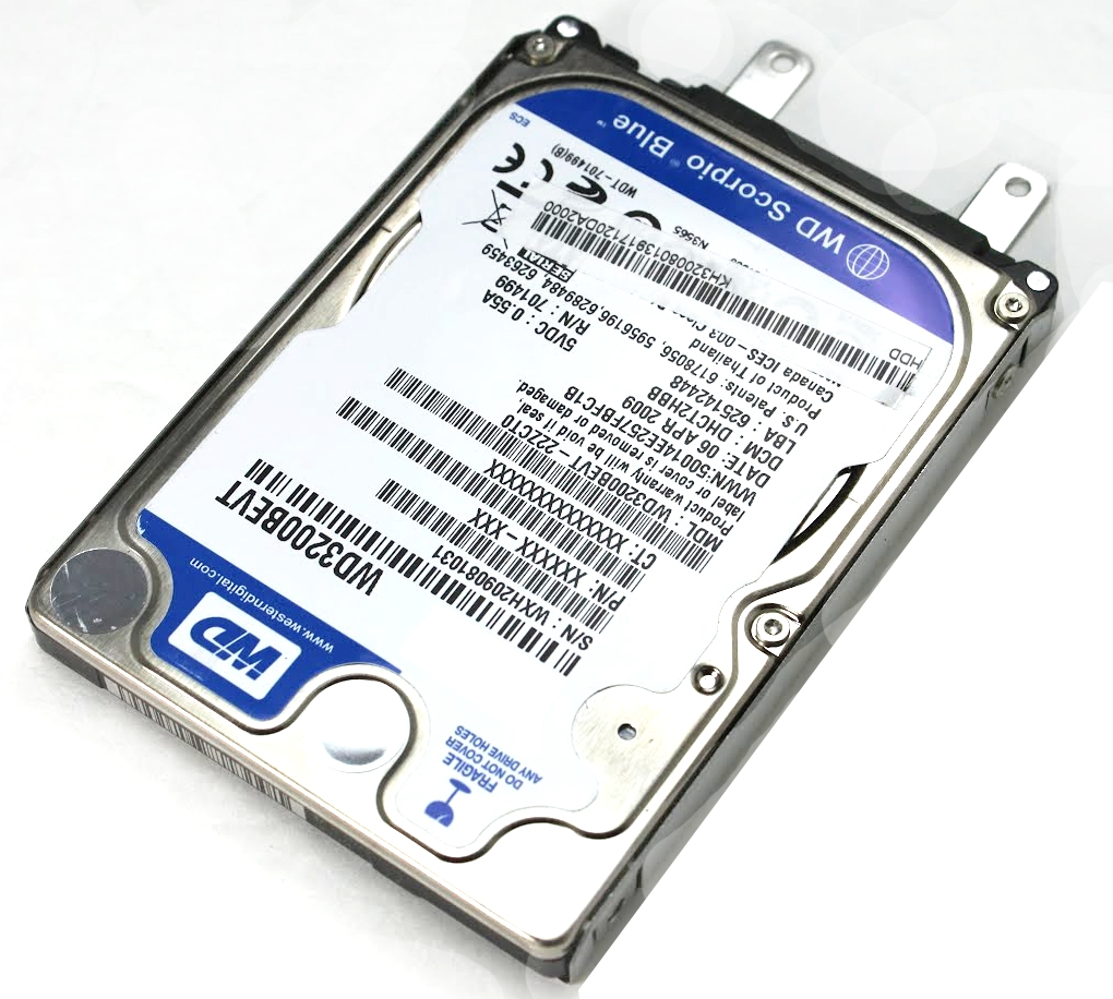 how to use pc hard drive in laptop
